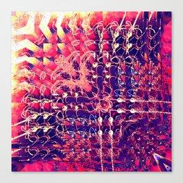 07-27-13 (Chandelier Glitch) Canvas Print