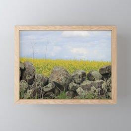 Drywall Canola Framed Mini Art Print