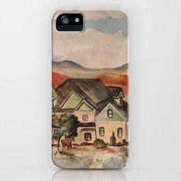 Poppy Fields Ranch iPhone Case