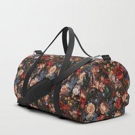Vintage Summer Floral Duffle Bag