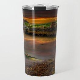 Porth Wen Brickworks Sunset Travel Mug