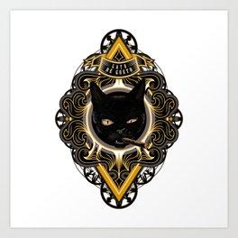 Gato de Gueto Art Print