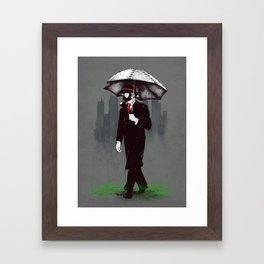 Acid rain Framed Art Print
