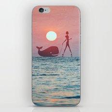 Whale Walk iPhone & iPod Skin