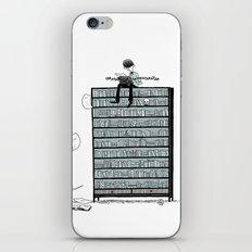 LITTLE DREAMS, BIG BOOKCASE iPhone & iPod Skin