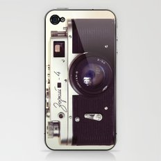 Zorki vintage camera iPhone & iPod Skin