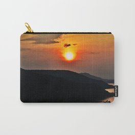 Sunset and the river Carry-All Pouch