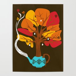 Tea Leaves Poster