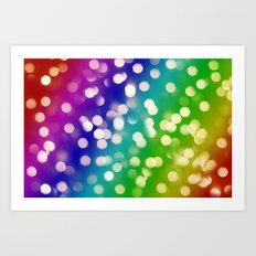 Lights & Gradients VI Art Print
