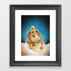 keep me warm Framed Art Print