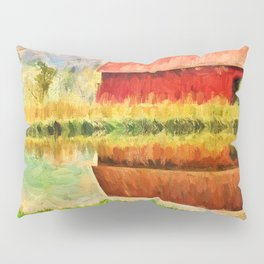 Farm Reflections Pillow Sham
