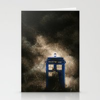 dr who Stationery Cards featuring Dr. Who by Redeemed Ink by - Kagan Masters