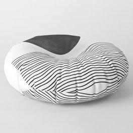 Modern Waves Floor Pillow