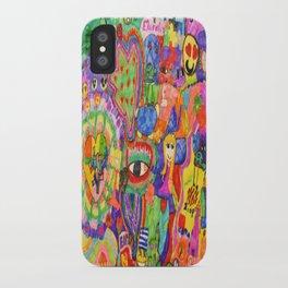 Pop Art World by Elisavet iPhone Case