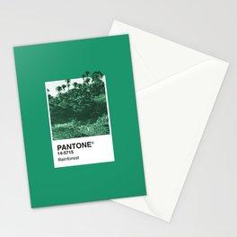 PANTONE SERIES – RAINFOREST Stationery Cards