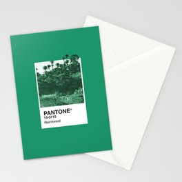 PANTONE SERIES – RAINFOREST Stationery Cards