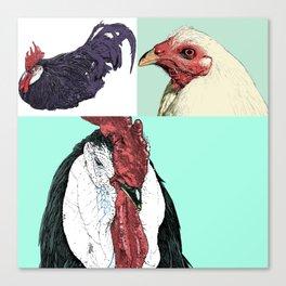 Flock No. 1 Canvas Print