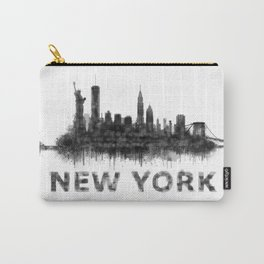 New York NY Skyline. NYC city Carry-All Pouch
