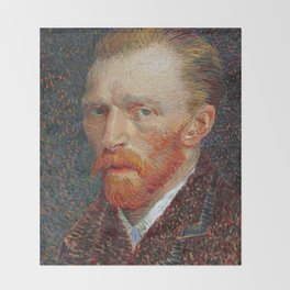 Van Gogh 1887 Throw Blanket