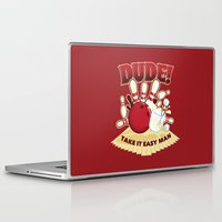 the dude Laptop & iPad Skins featuring Dude! by Stationjack