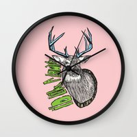 lawyer Wall Clocks featuring I'd like a lawyer by Monkey Chow