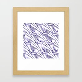 "Koloman (Kolo) Moser ""Textile pattern (Bogen)"" (6) Framed Art Print"