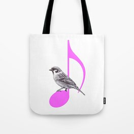 Song Bird Tote Bag