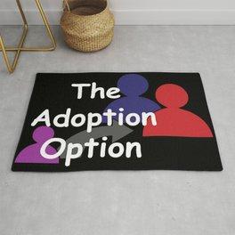 """""""The Adoption Option"""" TV Show Logo Rug"""