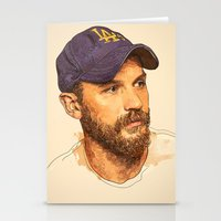 tom selleck Stationery Cards featuring Tom by Roxy Color