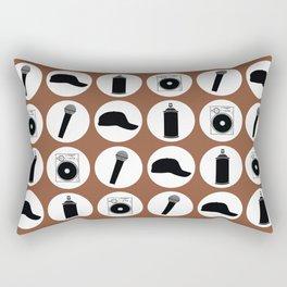 4 Elements Of Hip-Hop Rectangular Pillow