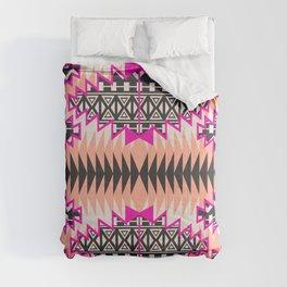 Tribal Beat Geo Magenta Comforters