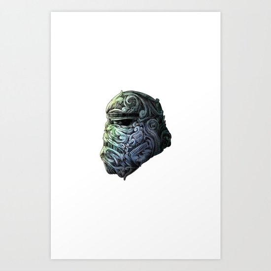 stormtrooper Art Print by Bkpena | Society6