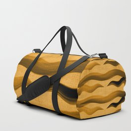 """Abstract Oriental Tiger"" Duffle Bag"