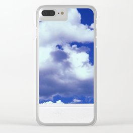 Clouds on Film Clear iPhone Case