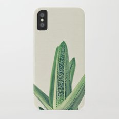 Cactus III iPhone X Slim Case