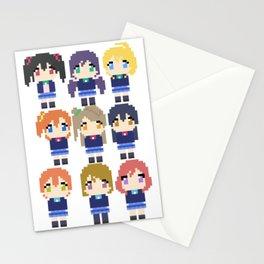 Pixel Muse Stationery Cards