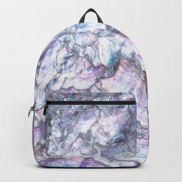 Mermaid Shell Beautiful Pearly Surface #decor #society6 #buyart Backpack