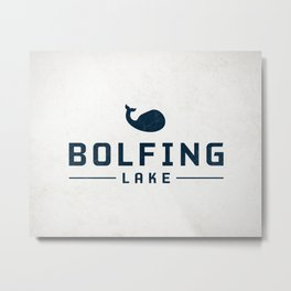 BOLFING LAKE Metal Print