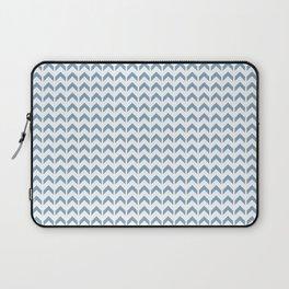 Arrows Up (Blue Pastel) Laptop Sleeve