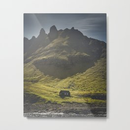 A Lonely House on a Lonely Island Metal Print