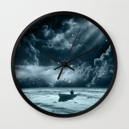 Without a Paddle Wall Clock