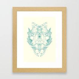 Blind Goat Framed Art Print