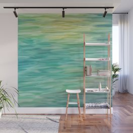 Grunge texture green color Wall Mural