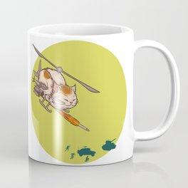 Apache Attack Cat Coffee Mug