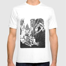 Baba Yaga Mens Fitted Tee SMALL White