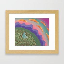 Dreaming Sky Framed Art Print