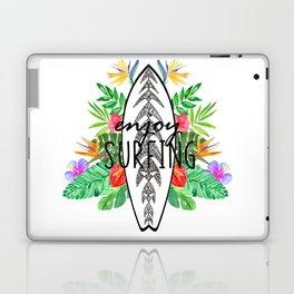 Enjoy surfing Laptop & iPad Skin