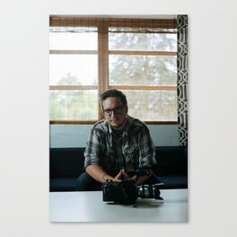Artists In Jackson: Jake Perry Canvas Print