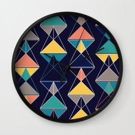 Triangular Affair III Wall Clock