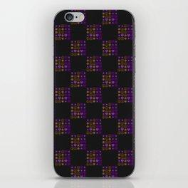 Halloween Patchwork Weave iPhone Skin